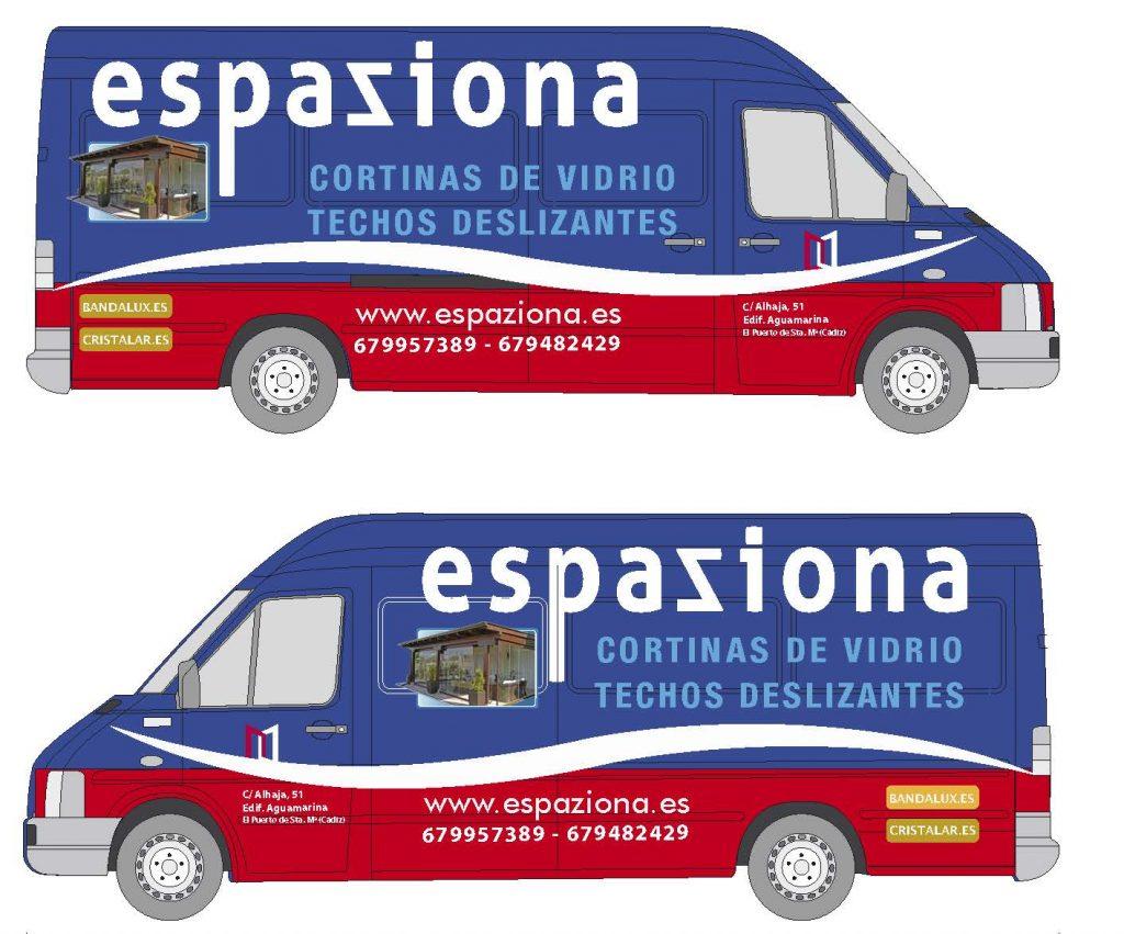 Diseño rotulación en Cádiz 2018