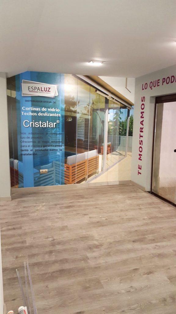Decoración de interiores con vinilo impreso en Cádiz
