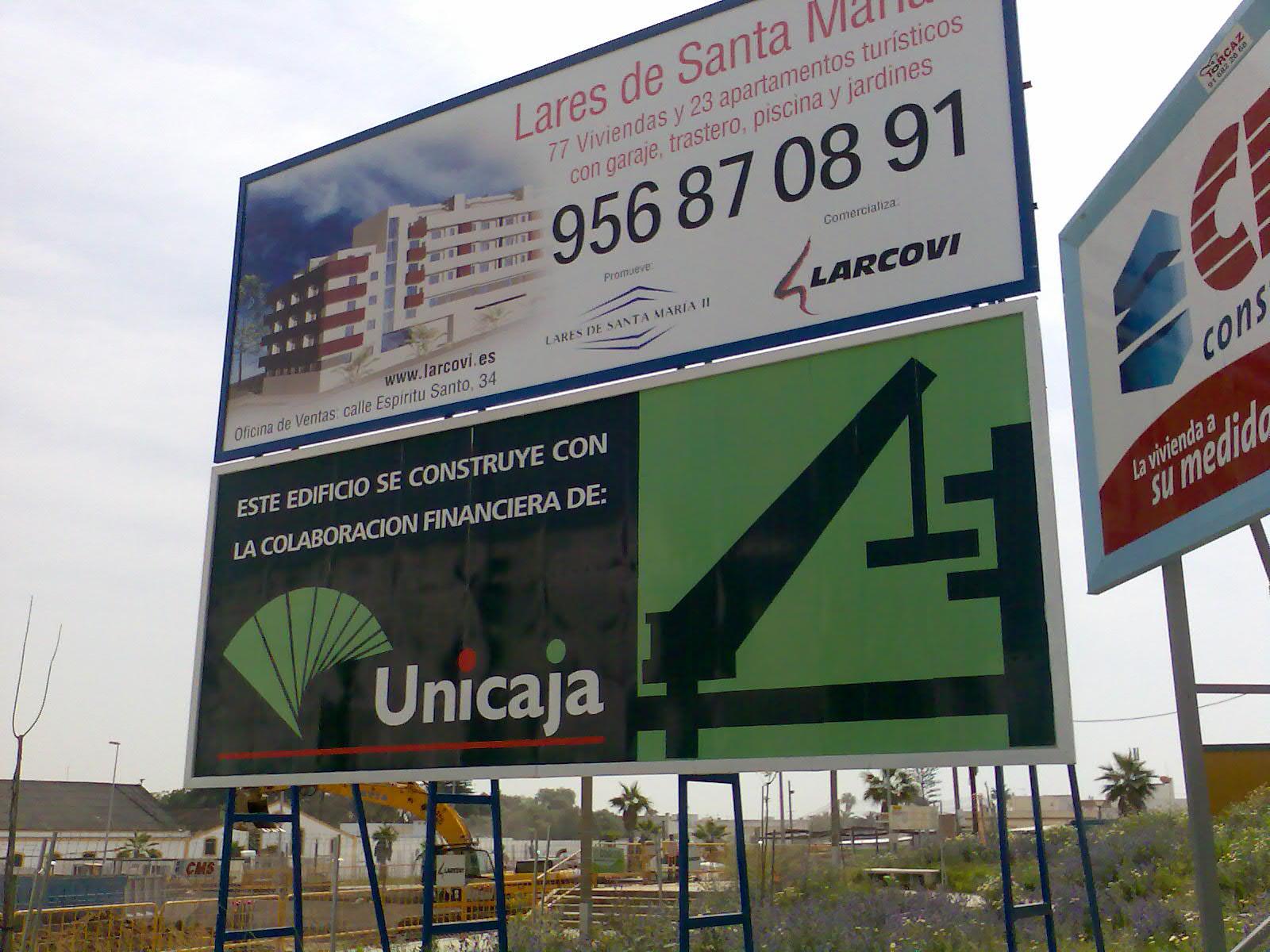 Vinilos impreso para vallas publicitarias en Cádiz