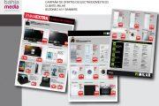Diseño gráfico de sábanas de ofertas y folletos en Cádiz