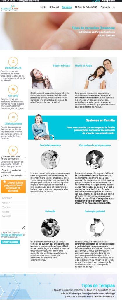 Diseño y posicionamiento de paginas web en Cádiz. Puerto de Santa María