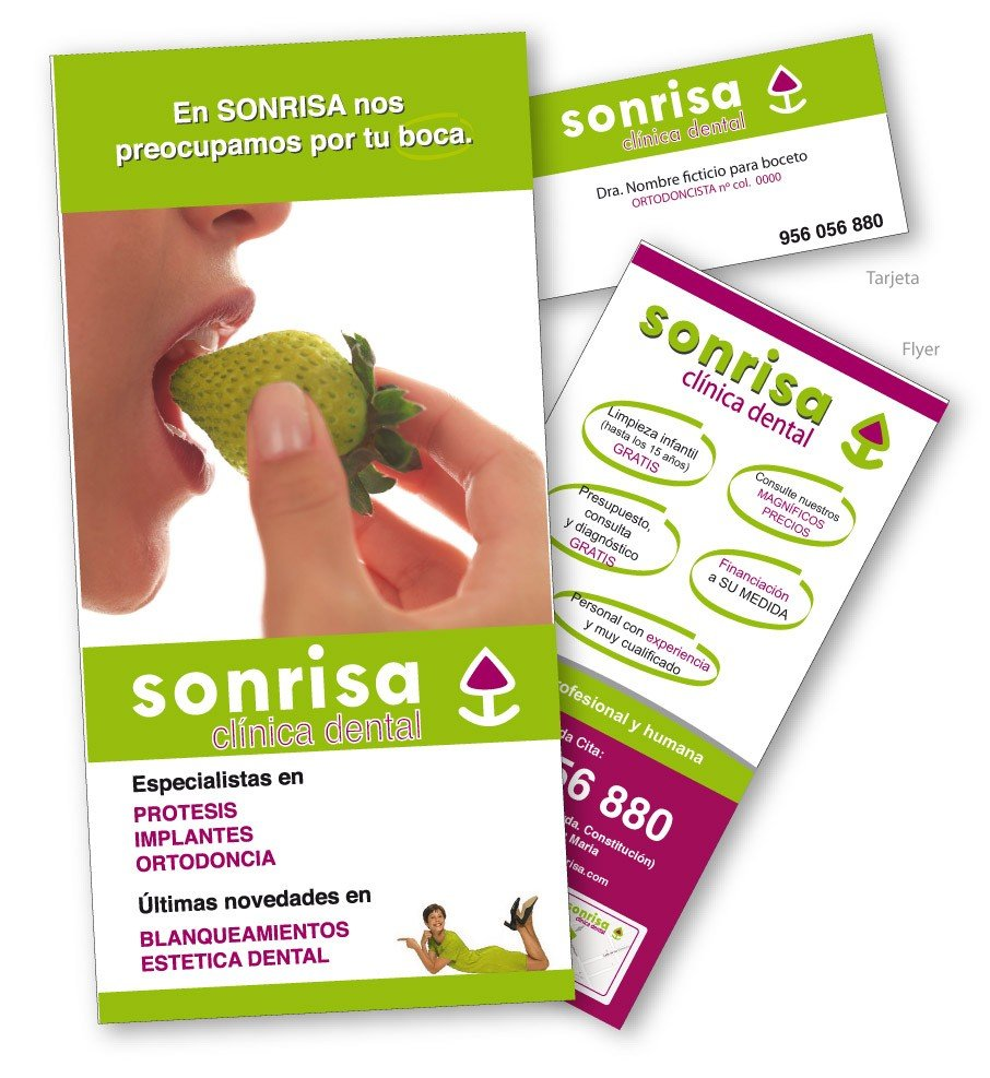 Diseño gráfico de flyers y folletos en Cádiz