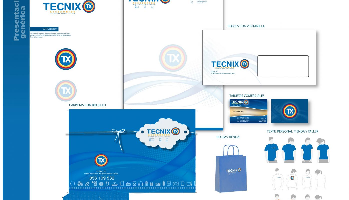 Diseño de marca - Manual corporativo Tecnix