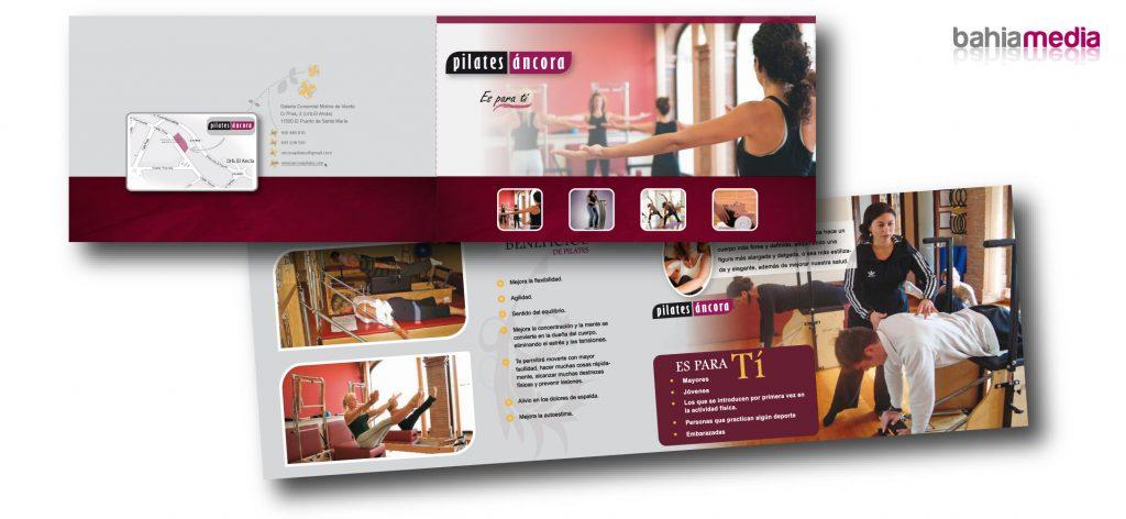 Diseño gráfico y creatividad de folletos en Cádiz. Producción