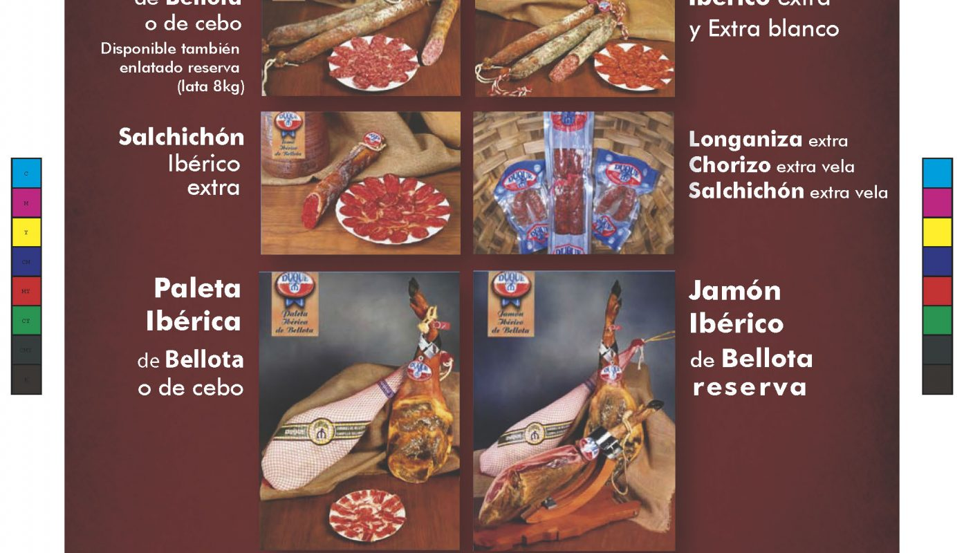 Duque Campillo productos ibéricos, Flyer
