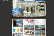 Diseño gráfico. Folleto tríptico Espaziona en Cádiz 2018