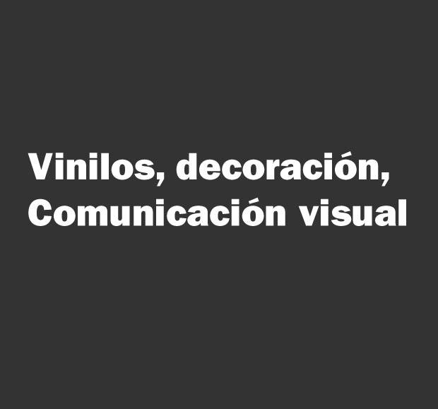 vinilos comuicacion visual